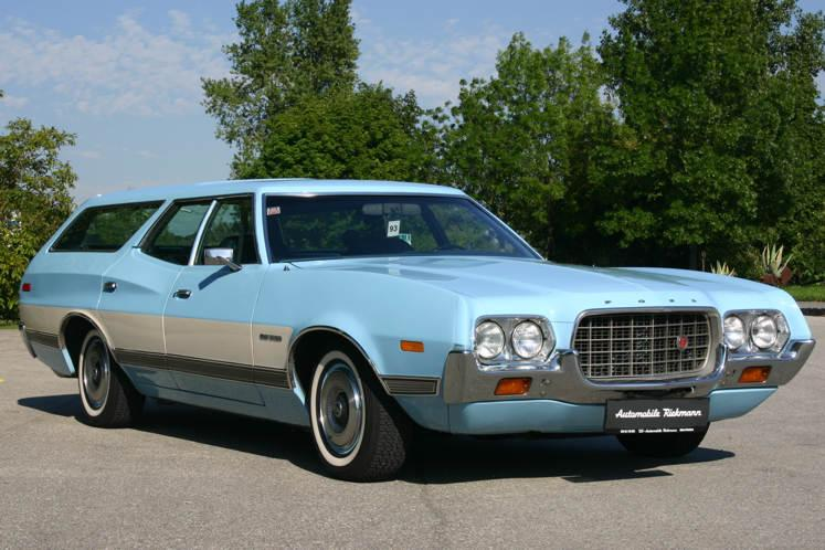 Wagon For Sale ~ Ford Gran Torino Station Wagon For Sale ~ 1972 Ford
